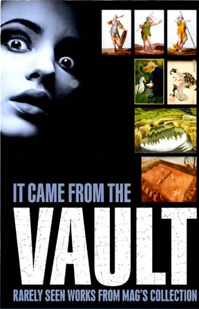 The poster for 'It Came From the Vault' at the Rochester Memorial Art Gallery, 500 University Avenue, Rochester, New York. Opening to the general public on March, 17th, 2013.